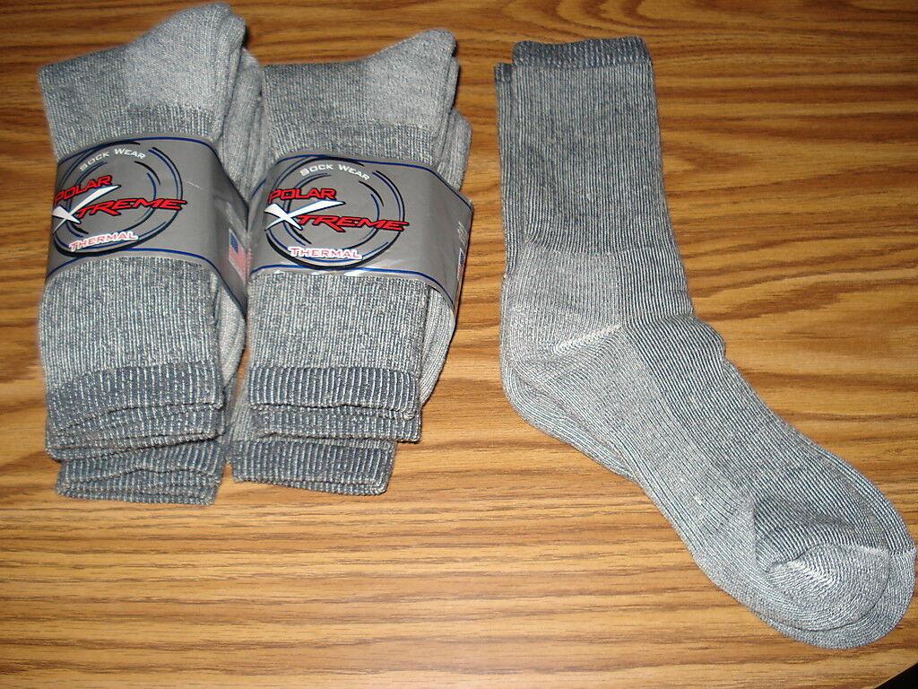 XTREME 3 Pr Womens Gray Merino Wool Cushioned Socks Smart...