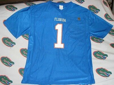 Florida Gator Football Jersey Blue Men's Xl