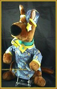 Scooby-Doo-21-Plush-Dog-Night-Shirt-Moon-Stars-Slipper-Nightshirt-Hanna-Barbera