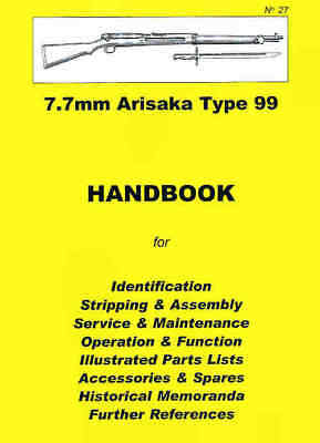 Japanese Rifle 7.7mm Arisaka Type 99 Assembly, Disassem