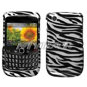 Blackberry Curve 8530 Zebra Cover