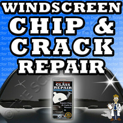 Windscreen Chip & Crack Repair / DIY Auto Kit Car Glass