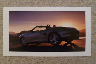 1997 Porsche Boxster Introduction Showroom Advertising Poster RARE! Awesome L@@K