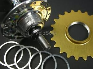 CNC-SPACER-KIT-for-Screw-on-FIXED-TRACK-COG-Freewheel-Cassette-Shimano-Hub