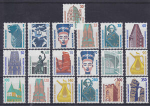 Germany-Sc-1515A-1537-MNH-1987-96-Definitives-19-diff