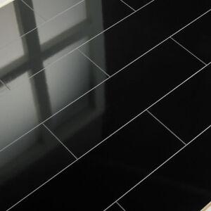 elesgo laminat superglanz floor v5 color black v-fuge hochglanz ... - Fliesen Laminat Glnzend