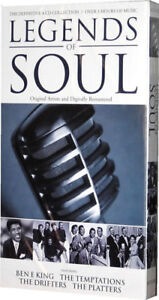 Legends Of Soul 60s 1960s and 70s 1970s Music 4 CD