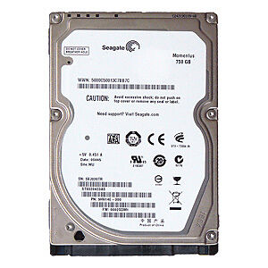 750GB Seagate ST9750420AS 7200.4 Laptop Hard Drive SATA