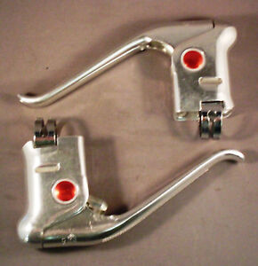 Vintage-Shimano-Dura-Ace-Road-Bicycle-Brake-Levers-pair