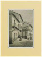 Saluzzo. Casa S.pellico- Piemonte. In Passepartout 1894 -  - ebay.it