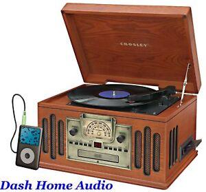 Retro-Vintage-AM-FM-Record-Player-Turntable-CD-MP3