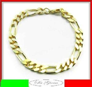 Figaroarmband Gold Double 7,5mm 25cm Armband Ab Fabrik