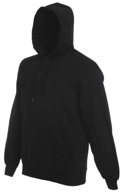 Adult Fruit of The Loom Plain Blank Hooded Sweatshirt - Pullover ...