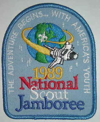 1989 National Boy Scout Jamboree Pocket Patch MINT! Jambo Jam NJ