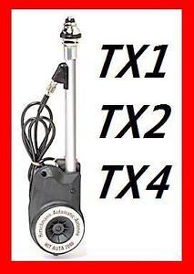 Details about LTI TX1 TX2 TX4 LONDON BLACK CAB ELECTRIC AERIAL CHROME