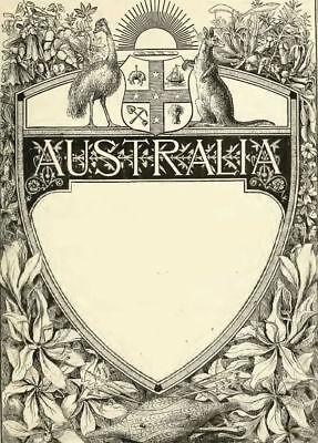 Australia 53 Historic Books History Culture People Genealogy Colonization C551