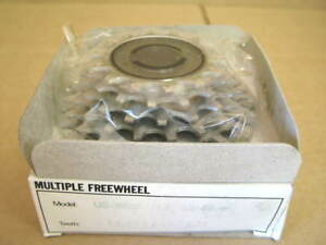 New-Old-Stock-Suntour-Pro-Compe-Ultra-6-Speed-Freewheel-14x23-w-Silver-Finish