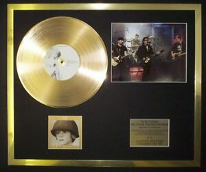 CD-GOLD-DISC-BY-U2-THE-BEST-OF-PHOTO-PIC-RECORD