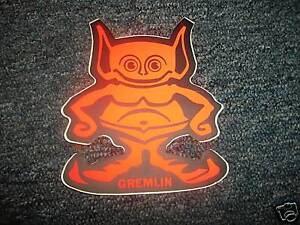 american motors amc gremlin man logo decal 6quot ebay