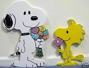 Snoopy Easter Spring Summer Lawn Yard Art Decoration