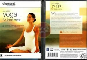 AM-amp-PM-YOGA-FOR-BEGINNERS-Element-Mind-amp-Body-NEW-DVD-Region-4-Australia