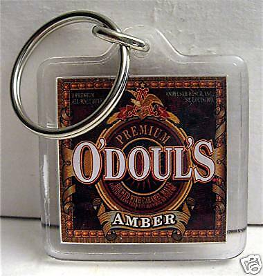 5 Odouls Premium Amber An Busch Beer Key Chain Lot