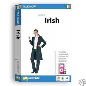 Talk Now Learn Irish Language Tutor Software & MP3