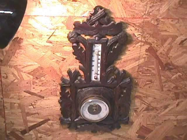Antique Black Forest Barometer Svendborg