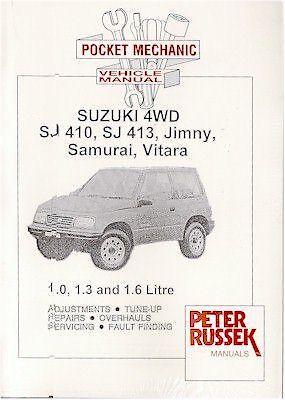 Suzuki 4WD SJ410, SJ413, Jimny, Samurai and Vitara