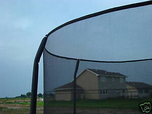 14' Trampoline SAFETY NET for ORBOUNDER 4 pole system