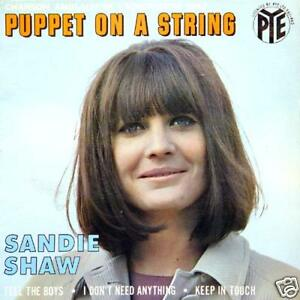 SANDIE-SHAW-Puppet-On-A-String-FR-Press-EP