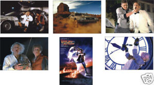 Back-to-the-Future-6-Card-POSTCARD-Set