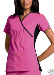 Cherokee scrubs Flexible wrap scrub top 2500 8 colors