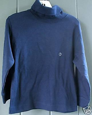 Talbots Kids Boys Turtleneck 100 Cotton Shirt Top Tee