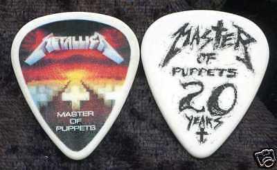 METALLICA 2008 European Tour Guitar Pick!!! JAMES HETFIELD custom concert stage