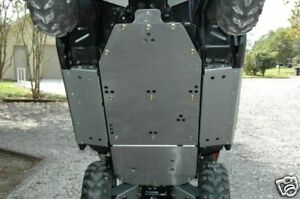 Polaris-RZRS-RZR-800-Full-Belly-Skids-Plates-Set-Bash