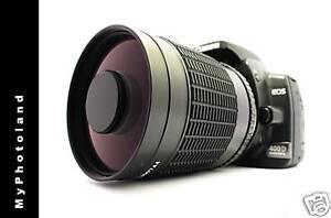 500mm/1000mm MC Makro Spiegeltele Objektiv für Canon EOS 500D 550D 600D 1100D