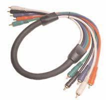 Calrad RCA to RCA Component Video Cable 20 ft