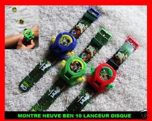 montre quartz neuve ben10 ben 10 garcon enfant alien force lanceur jeu jouet ebay. Black Bedroom Furniture Sets. Home Design Ideas