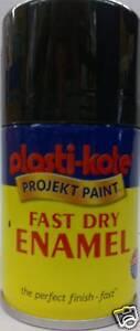 100ml plasti kote gloss black spray aerosol paint fast dry. Black Bedroom Furniture Sets. Home Design Ideas