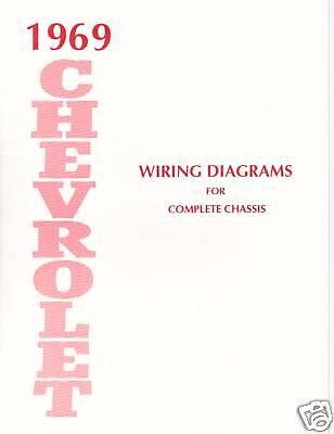 1969 Chevrolet Wiring Diagram Manual