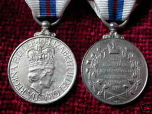 Replica Copy 1977 Silver Jubilee Medal Full Size