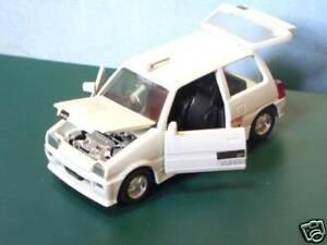 Daihatsu Mira Turbo TR-XX 1 35 1 35 Diecast DIAPET blancoo Raros