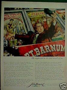 1953-P-T-Barnum-Circus-Memorbilia-John-Hancock-Albert-Dorne-Art-Print-AD