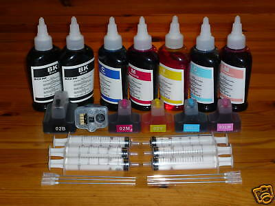 Refillable Ink Cartridge For Hp 02 3110 3210 3310 7280