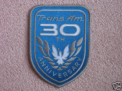 NEW 1999 Pontiac Trans Am 30th Anniversary Fender Patch