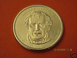2009-D  BU Mint State (Zachary Taylor) US Presidential One Dollar Coin