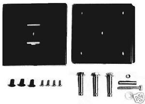 ROBUST-VESA-75-100-FIXED-ULTRA-SLIM-LOW-PROFILE-BLACK-FINISH-WALL-MOUNT