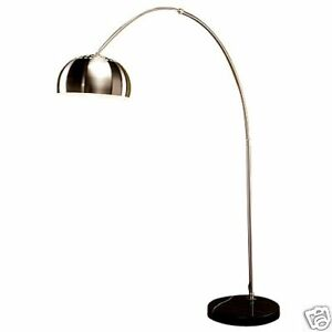 details about arco castiglio italian lamp retro arc floor lamps black. Black Bedroom Furniture Sets. Home Design Ideas