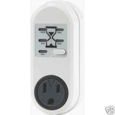 (battery Charger Timer) Outlet Power Supply Laptop Saver Prolong Life